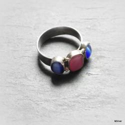 Srebrny pierścionek z uleksitem