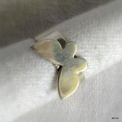 "55. Srebrny pierścionek ""motyl"" 1"