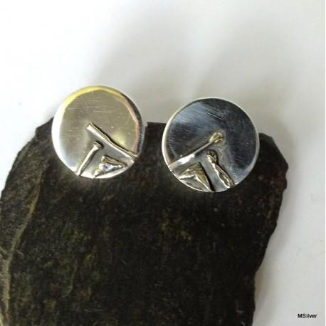 295. Kolczyki srebrne