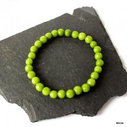 59. Bransoletka z zielonego jadeitu